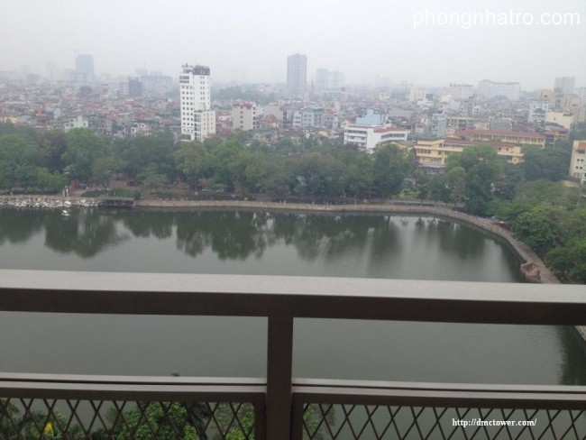 Serviced Apartments for lease - DMC tower, Kim Ma St, Ba Dinh Dt, view lake.0988.2525.34
