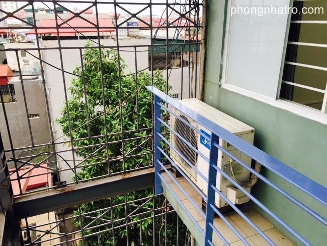 1 bedroom apartment with balcony for rent in Long Bien district