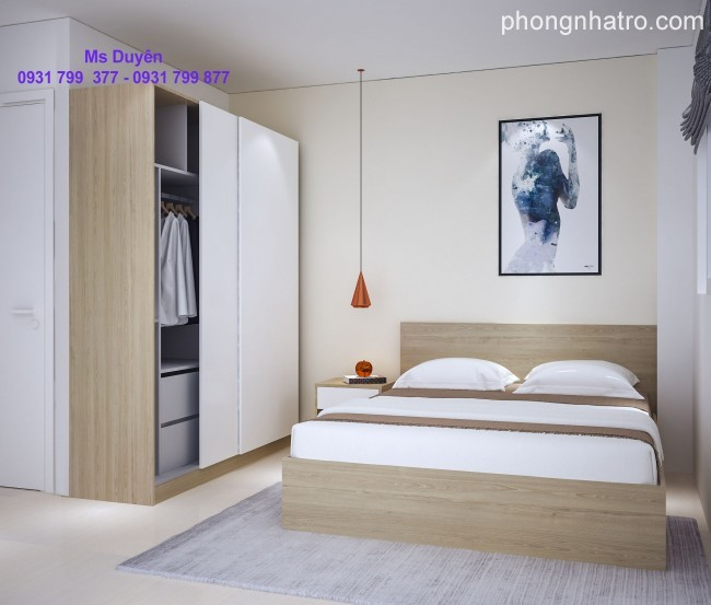 Apartments for Lease in Viet-Sing Town, Binh Duong.