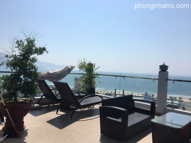 Forent Apartment view sea in Da Nang, 1studio 6,5ml/month. Separate apartment 8ml/month